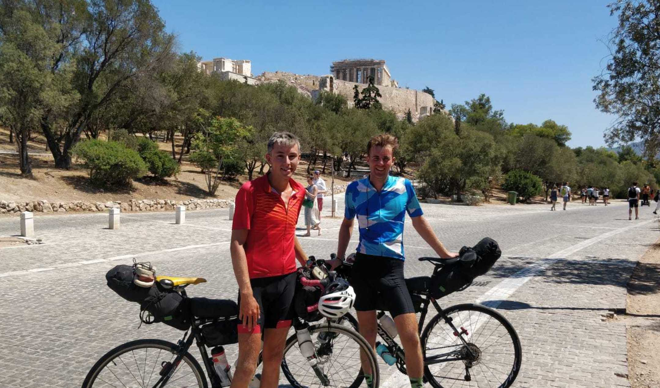 2019 London to Athens Cycle Expedition