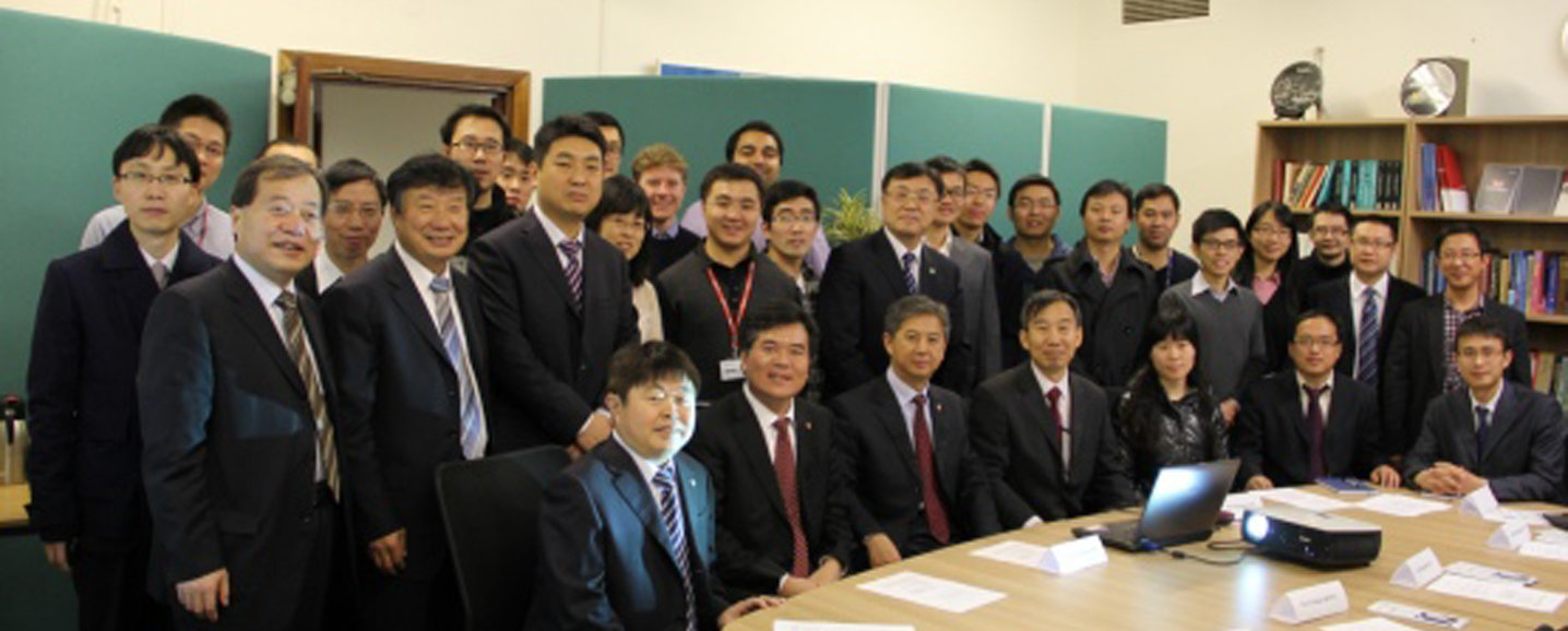 Prof Xu Zhanbin et al. with Visiting Academics, PhDs and RAs associated with AVIC