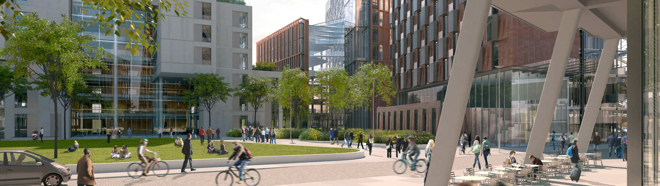 Artist's impression of White City Campus