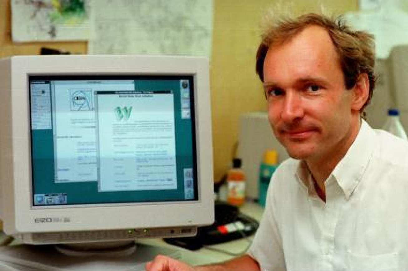 Tim Berners Lee, Inventor of the World Wide Web