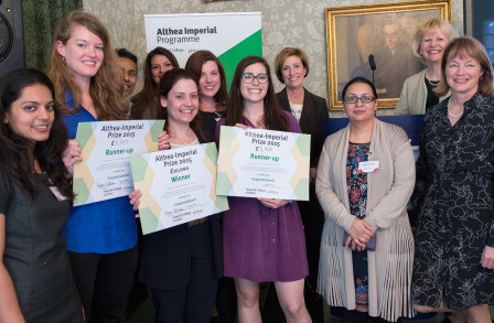 A group of Althea prize-winners