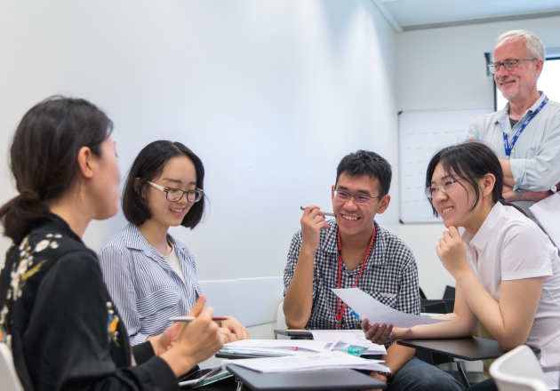 Students at the Centre for Academic English