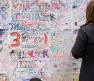 What do you think the year 3000 will look like graffiti