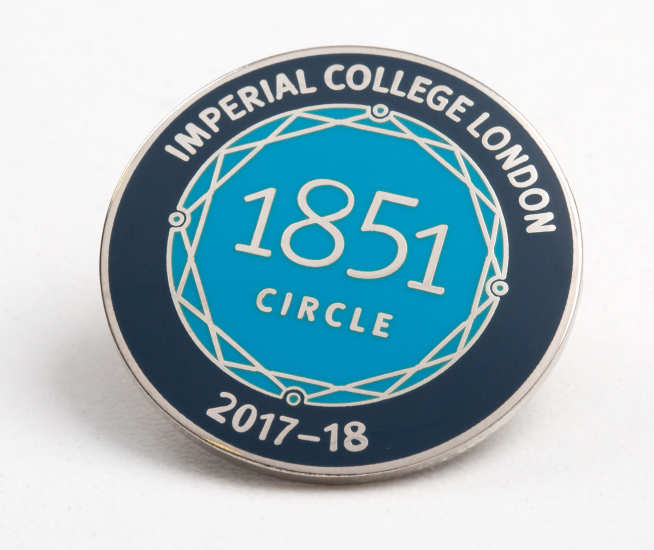Imperial 1851 Circle lapel pin