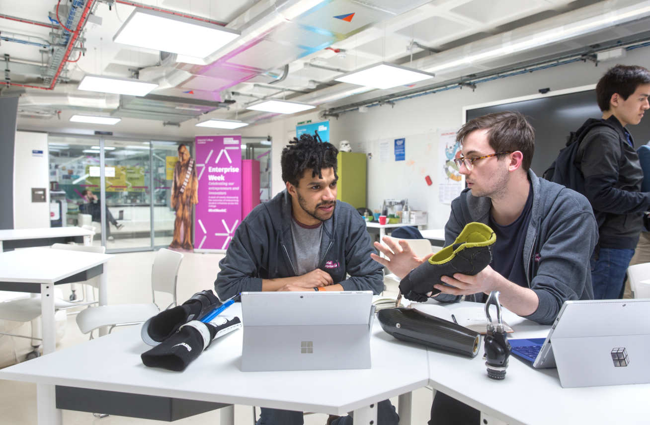 Mitt Prosthesis, participants in the Venture Catalyst Challenge