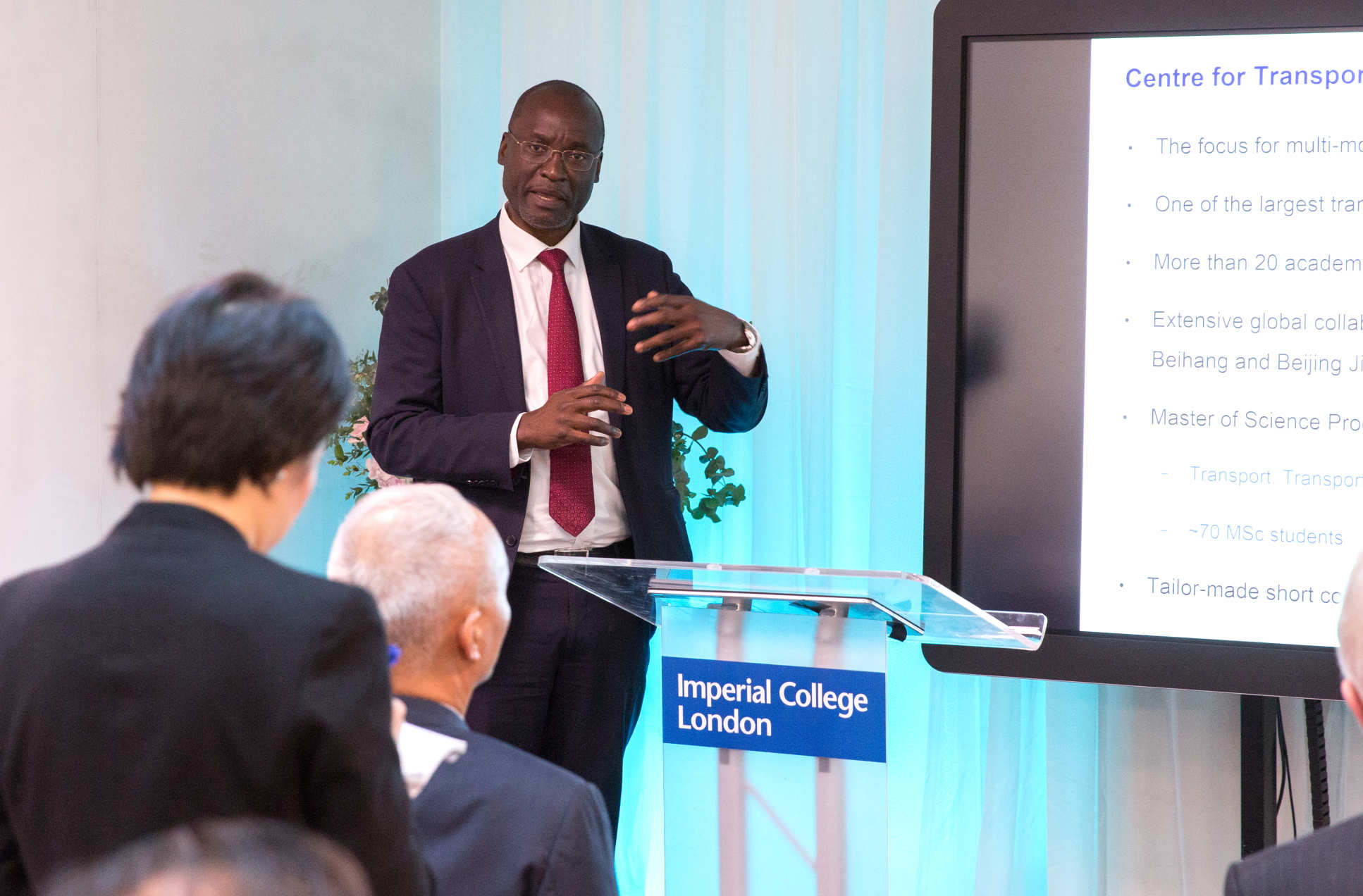 Professor Washington Ochieng, Head of the Centre for Transport Studies