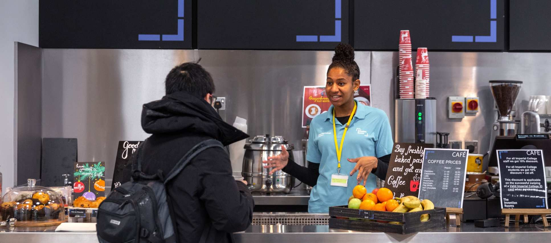 Food And Drink About Imperial College London