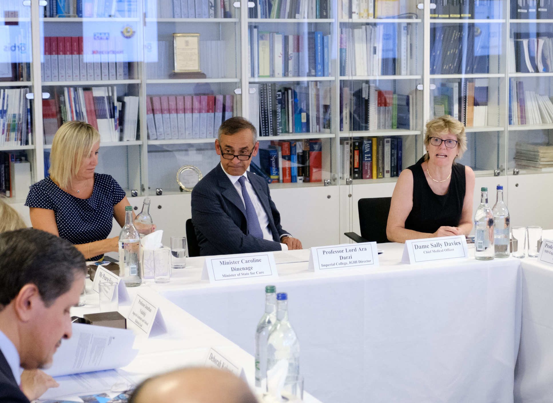 Chief Medical Officer Dame Sally Davies joined the discussions