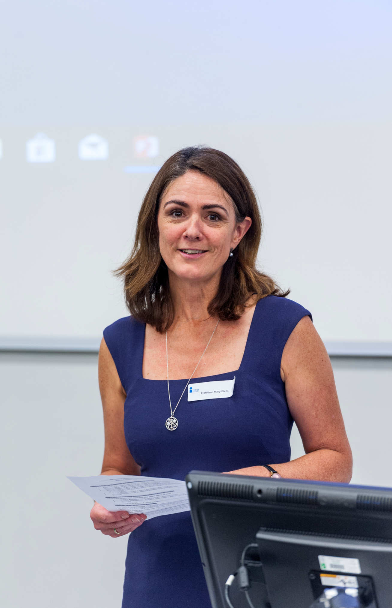 Mary Wells, Professor of Practice (Cancer Nursing) and Lead Nurse for Research at Imperial College Healthcare NHS Trust
