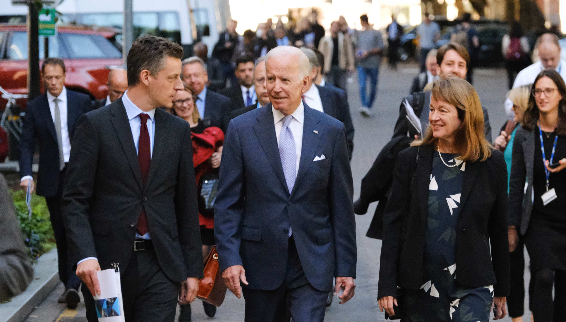 President Gast with Joe biden