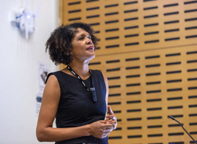 Alumnus Chi Onwurah MP delivered a lecture on Diversity in STEM in October