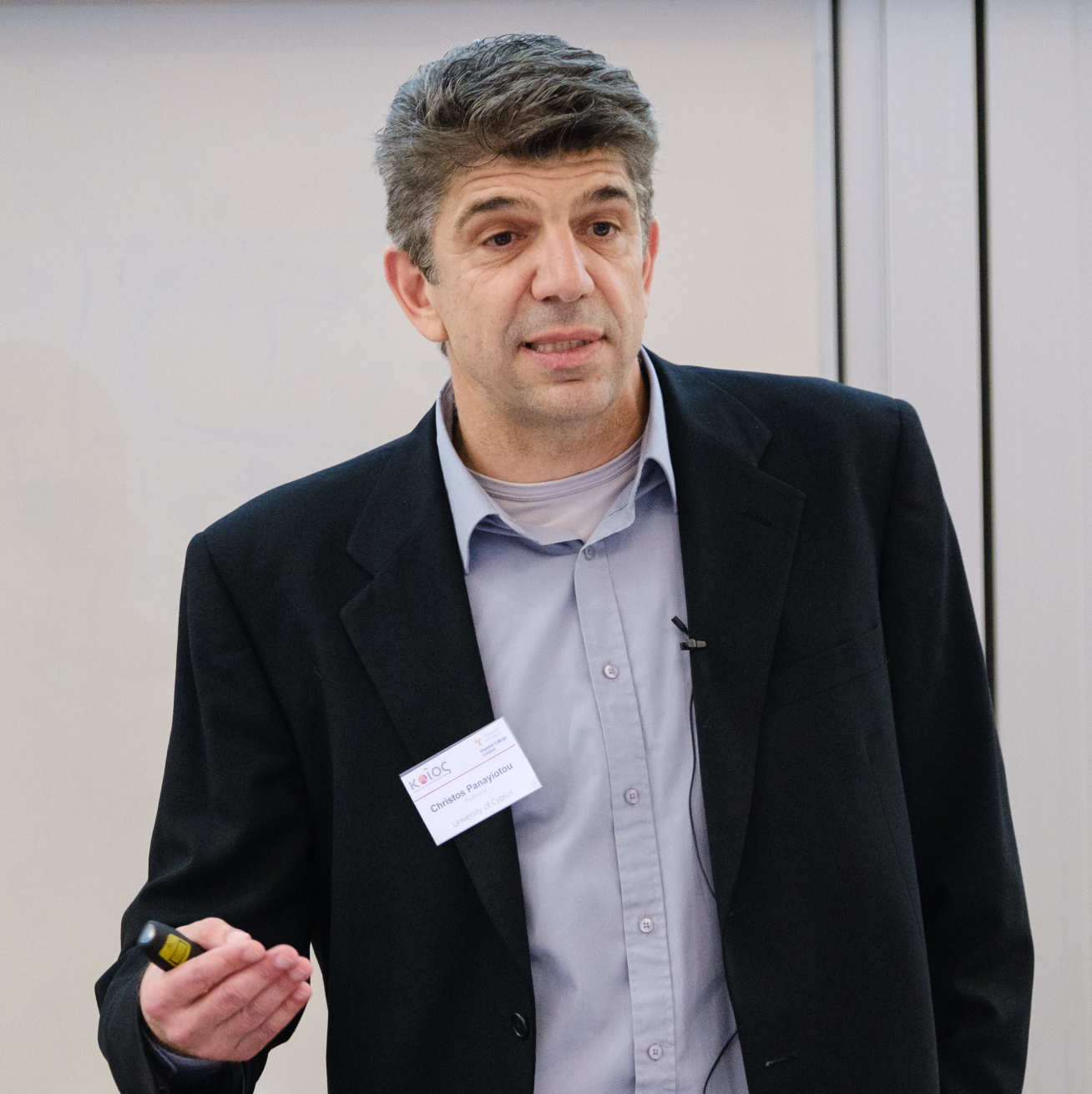 Professor Christos Panayiotou, from the University of Cyprus