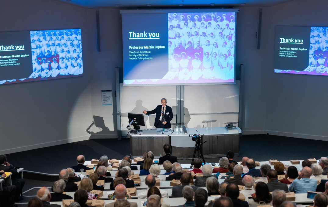 Westminster Tercentary Lecture at Imperial College London