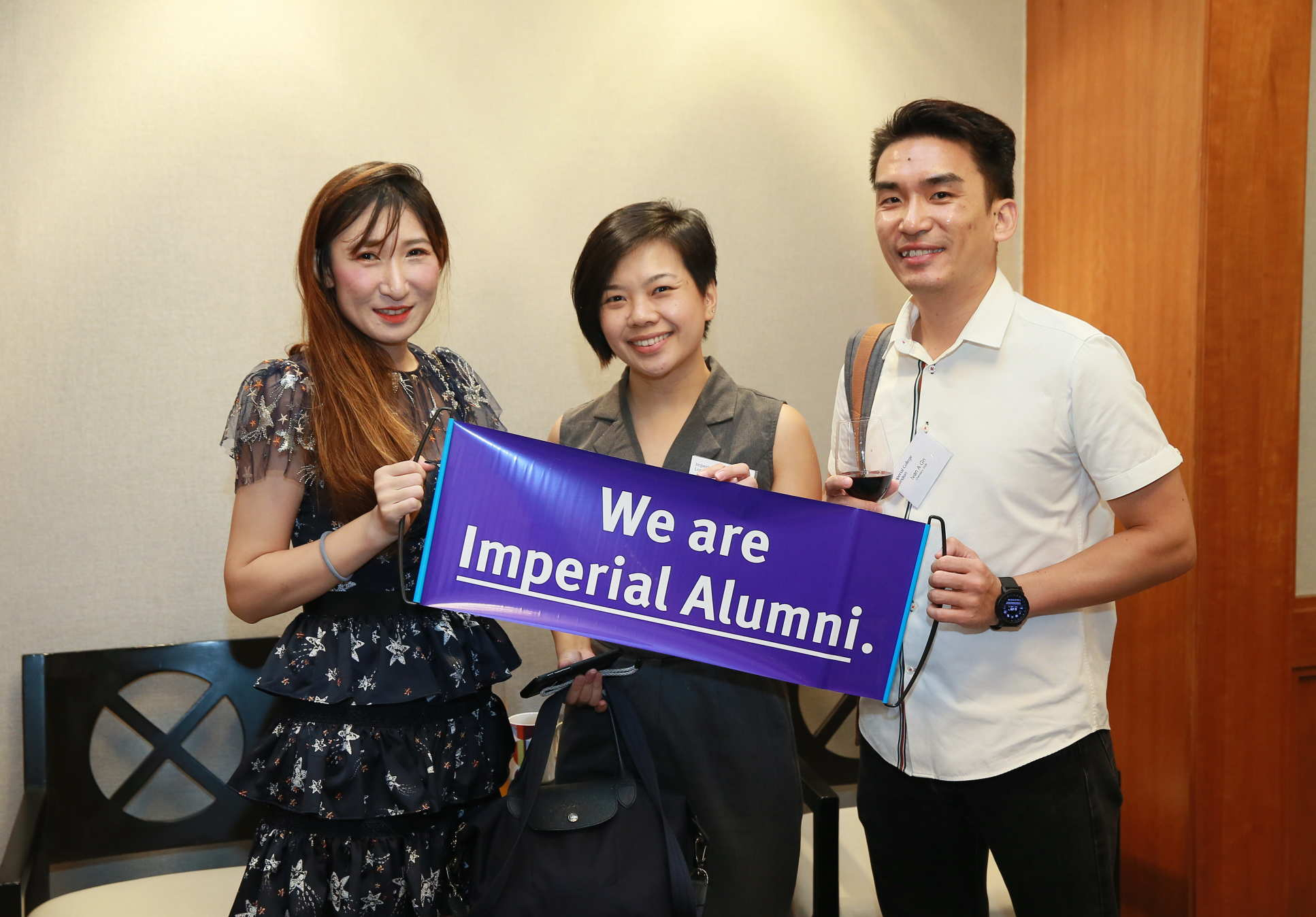Alumni at the special event in Singapore