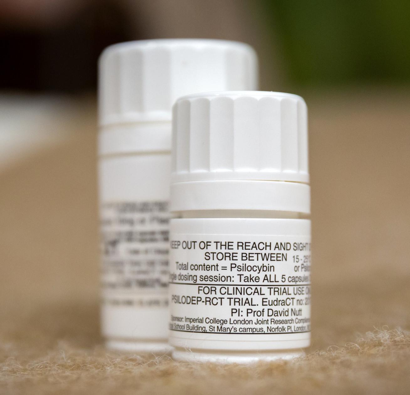 Psilocybin capsules