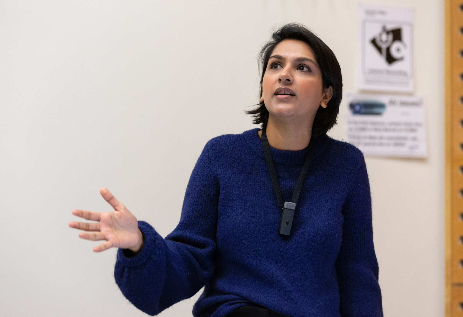Angela Saini gives lecture