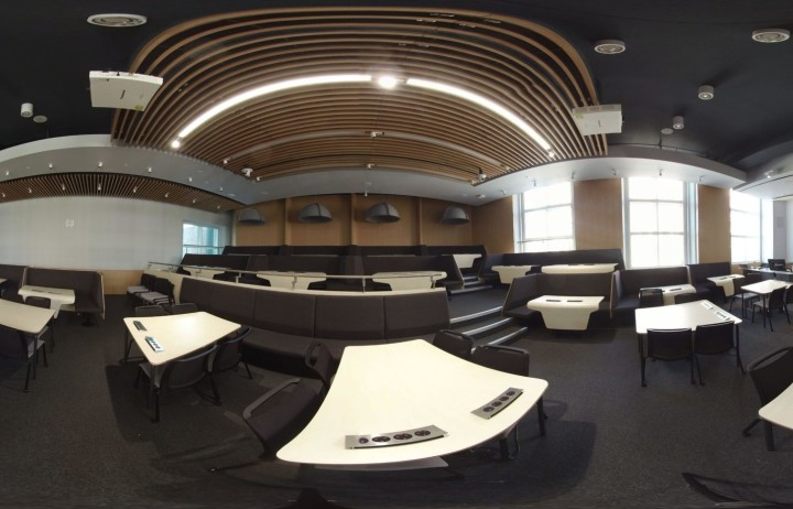 360 pano of RSM lecture theatre at Imperial College London