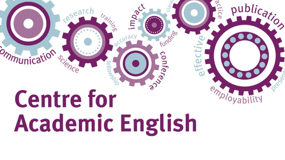 Centre for Academic English cog design