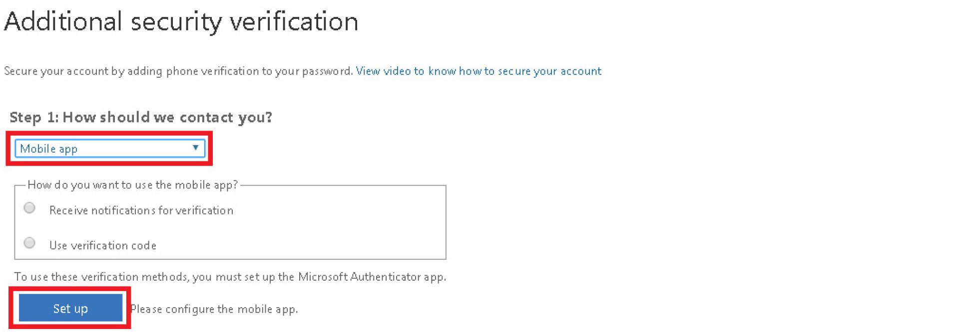 Setting up Multifactor Authentication | Administration and