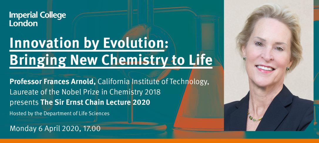 Sir Ernst Chain Lecture banner