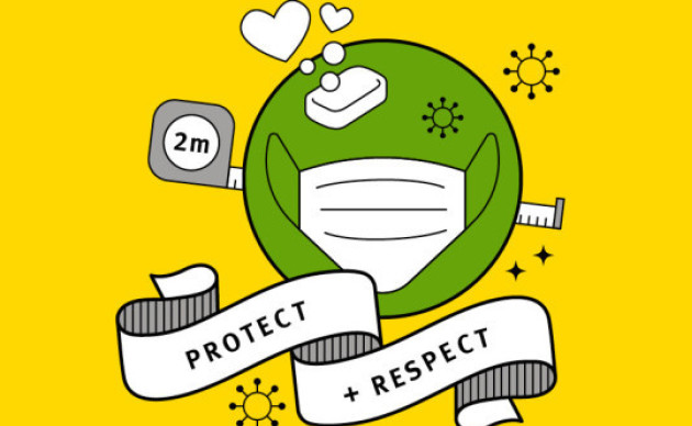 Protect and respect campaign image