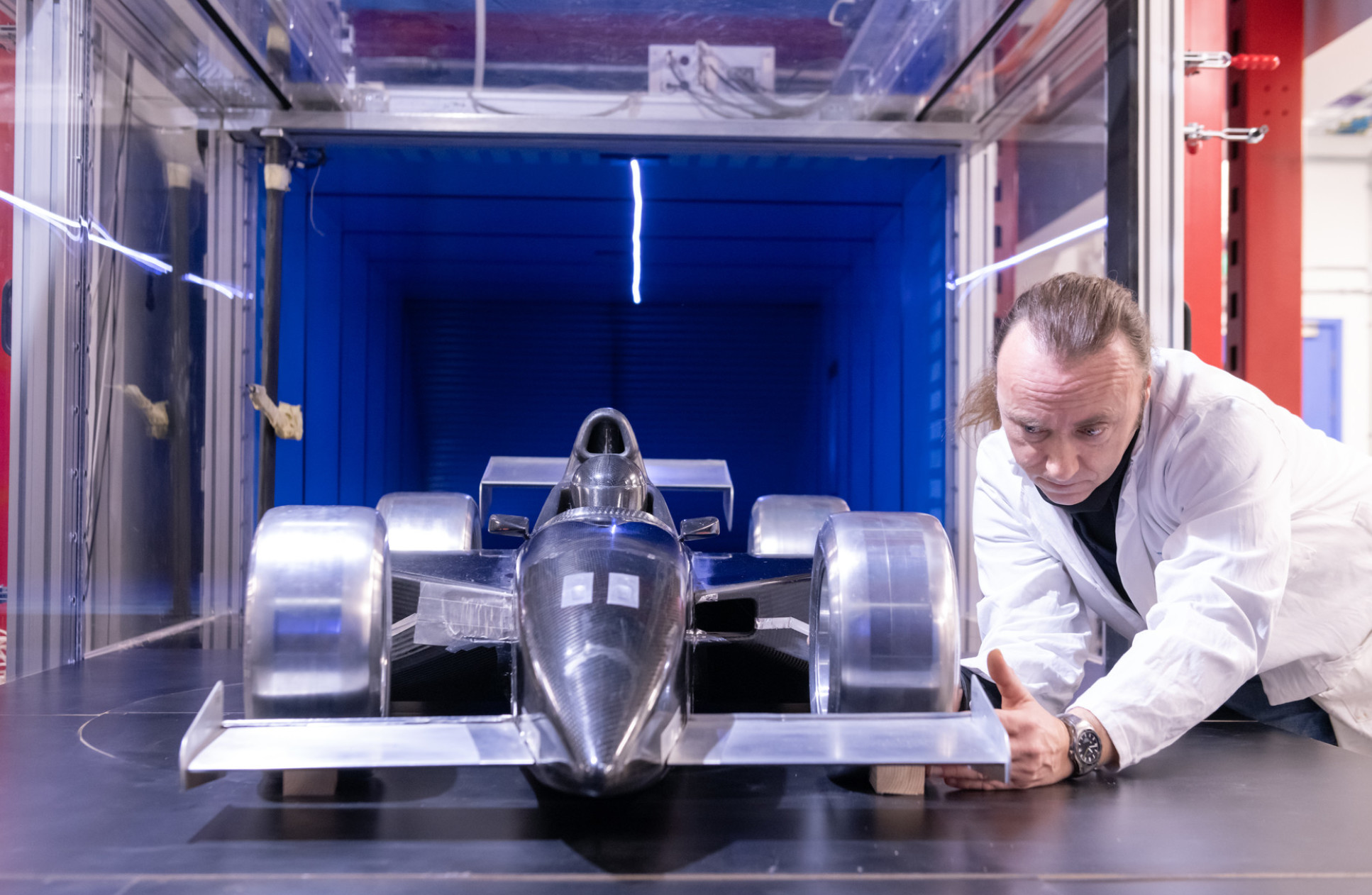 Wind tunnel research at Imperial