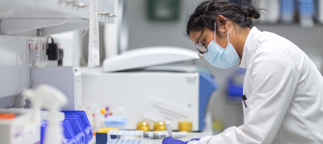 Researcher working on COVID-19 at Imperial College London