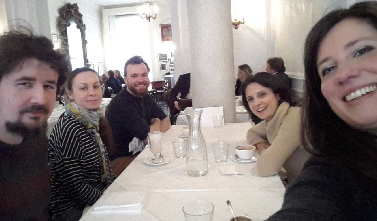 Lunch with the Mattevi Group celebrating Chiaras viva
