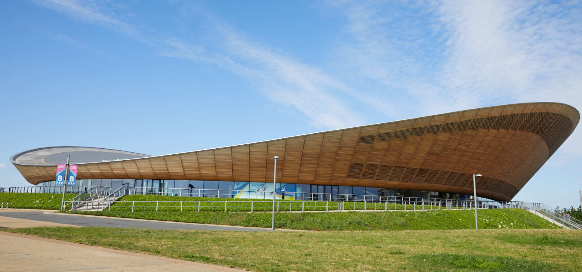The event was held at the London Velodrome at the Olympic Park