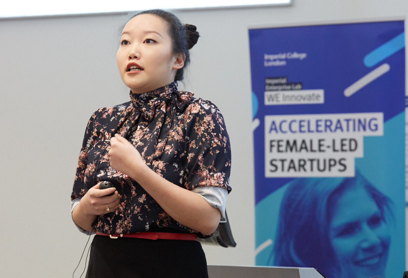 Olivia Ahn, founder of Polipop