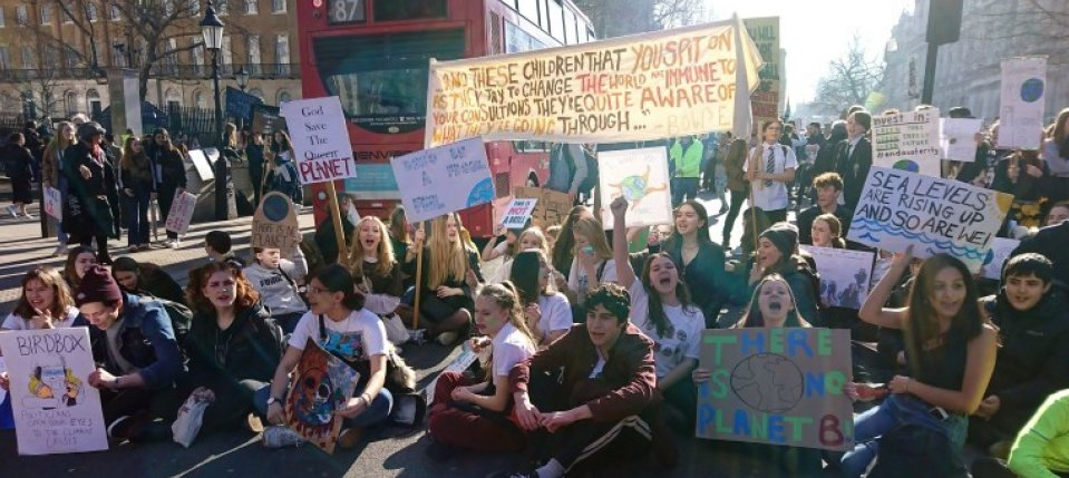 Pic of the Youth Strike for Climate