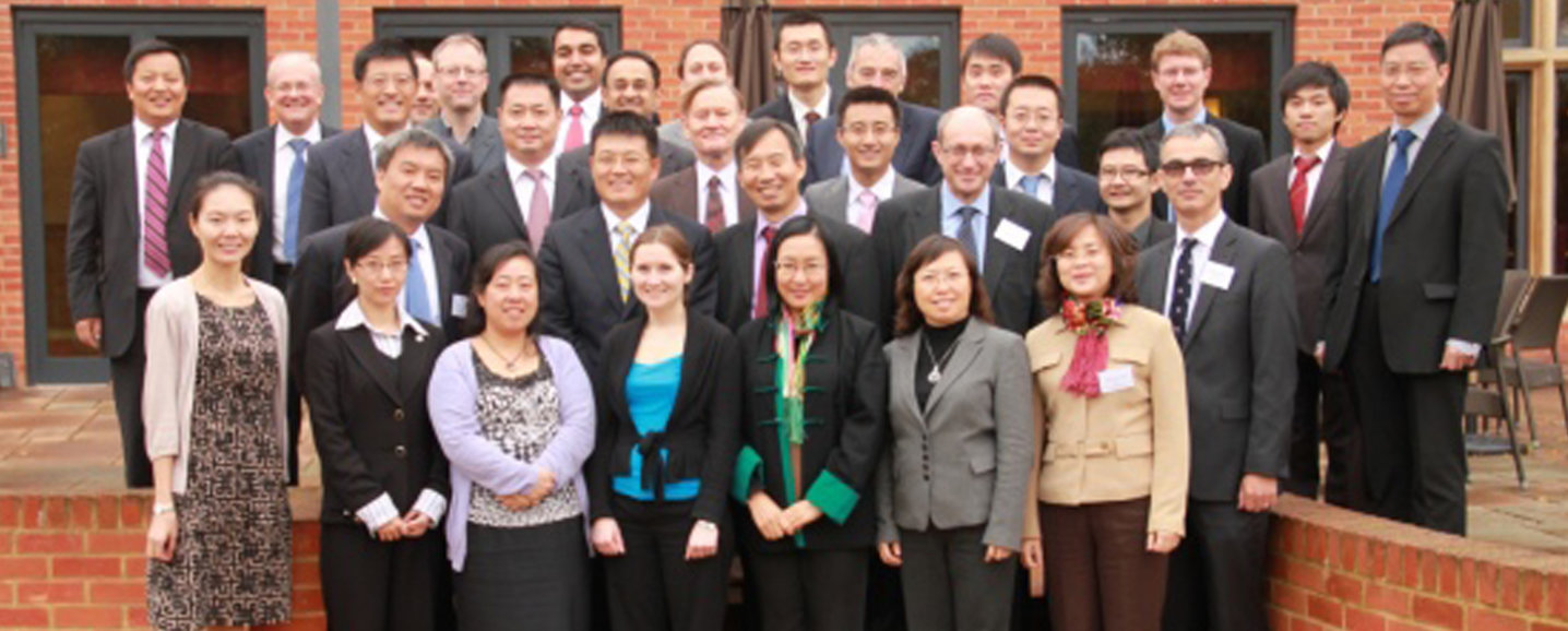 Attendees of first AVIC-Imperial College workshop