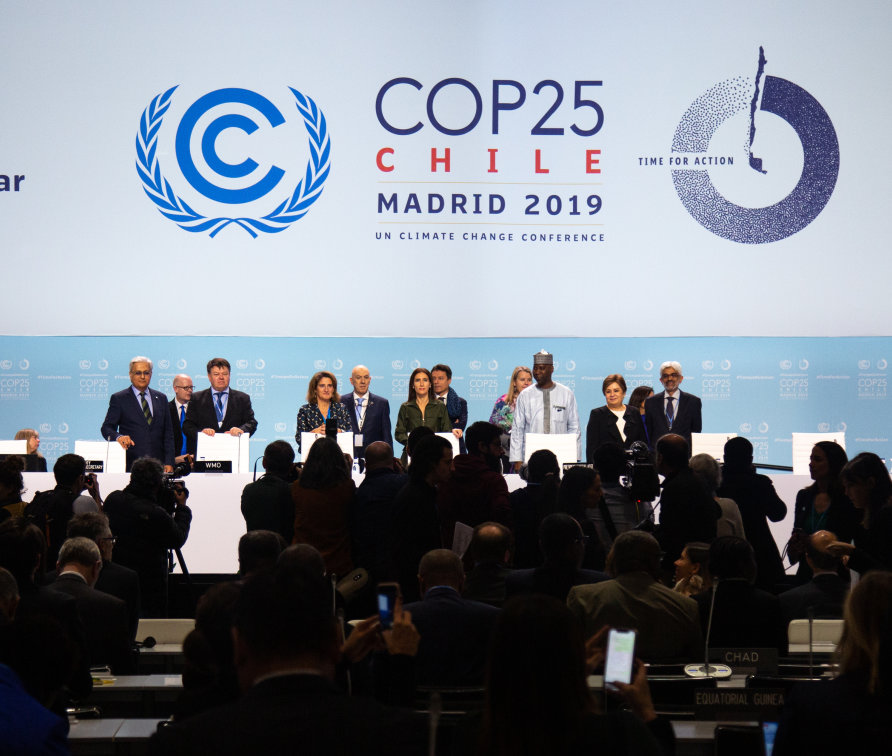 The opening ceremony of COP25