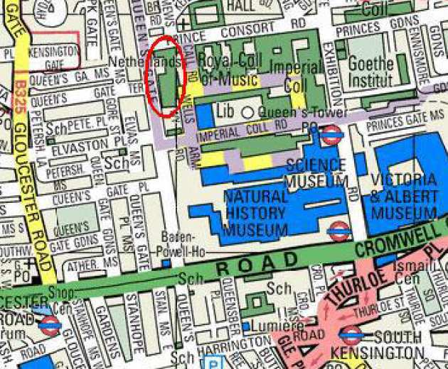 South Kensington London Map.Getting Here Research Groups Imperial College London