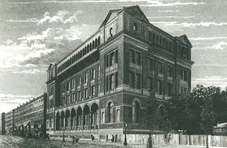 The Royal College of Science New Henry Cole Wing 1872