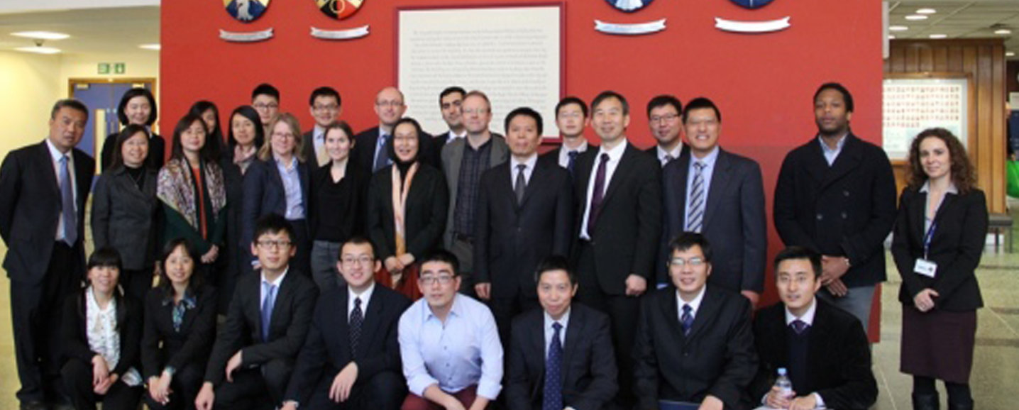 Attendees of AVIC-Imperial College workshop