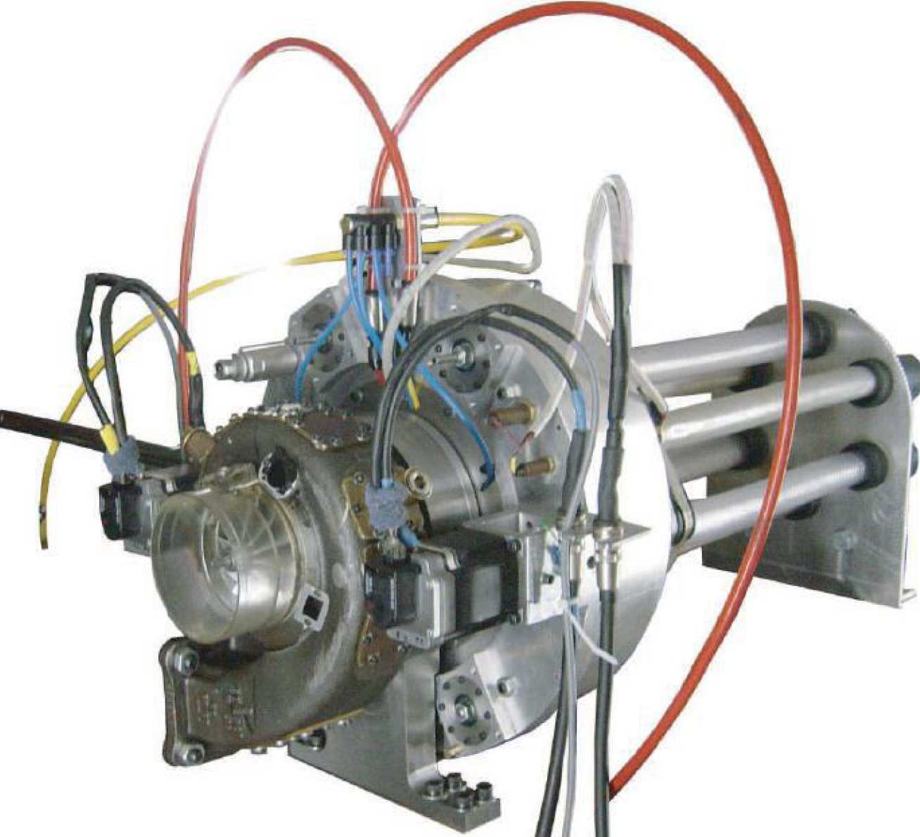 Front view eddy-current dynamometer