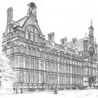 City and Guilds College, Waterhouse Building designed by Alfred Waterhouse 1881