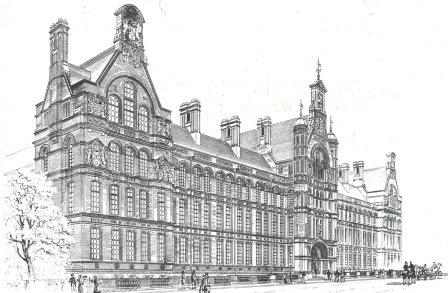 City and Guilds College, Waterhouse Building By Alfred Waterhouse 1881