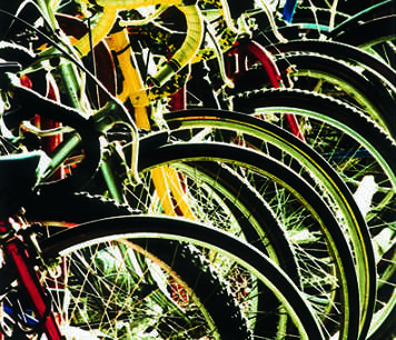 A group of bicycles; credit: Jan Chlebik