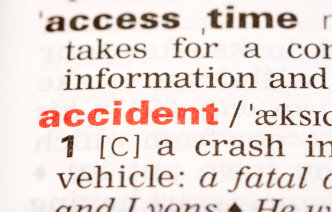 Accident in a dictionary