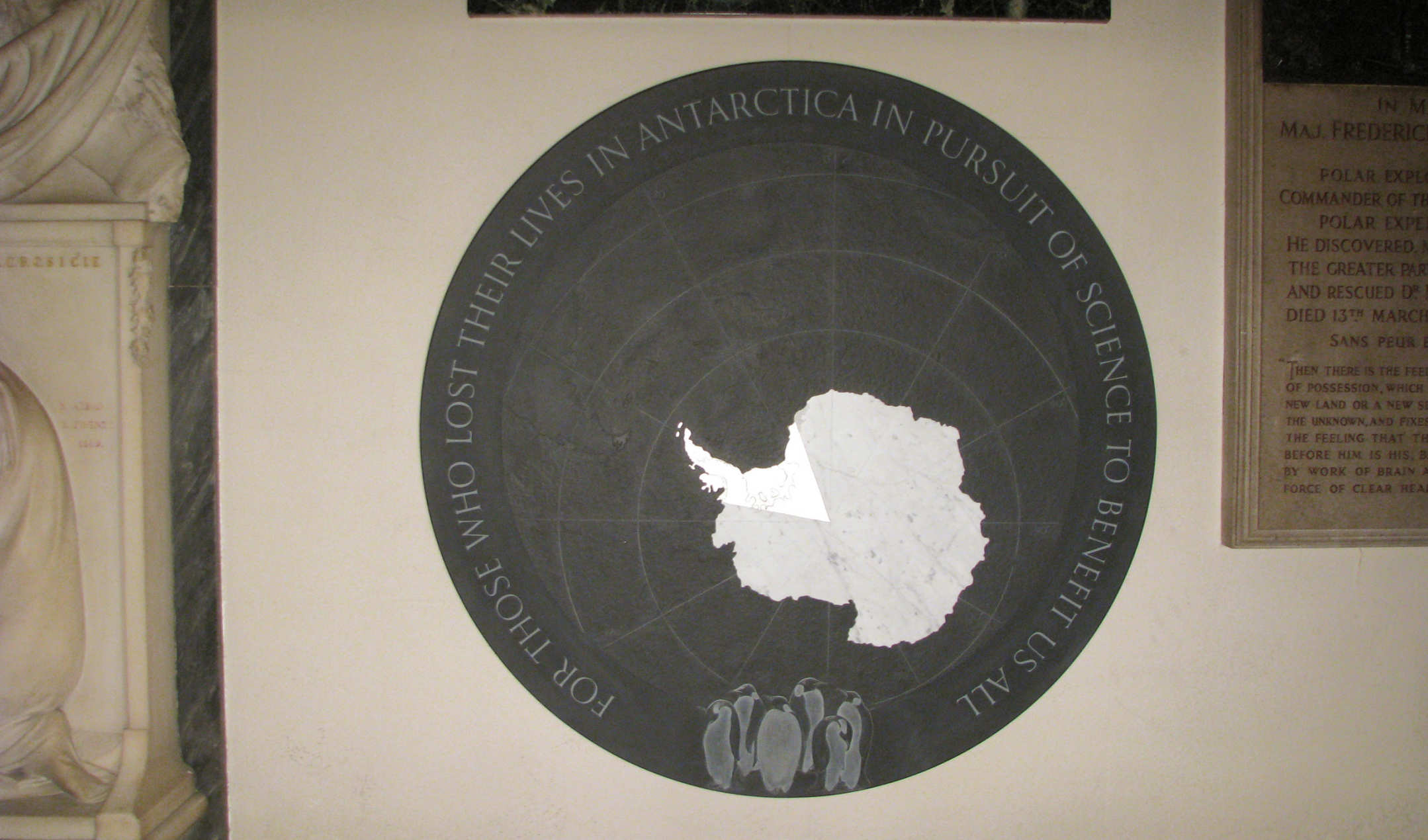 friends of imperial in the antarctic imperial college london antarctic memorial in the crypt at st paul s cathedral