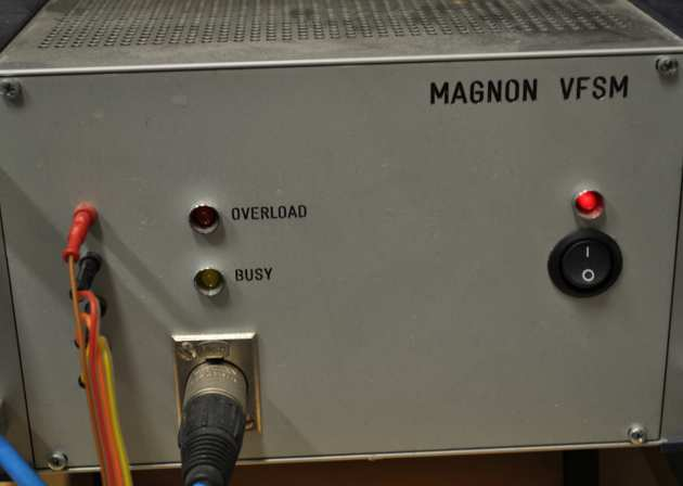Automated Magnon Variable Frequency Susceptibility Meter (VFSM)