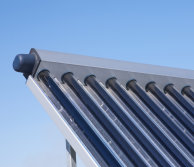 Solar thermal pipes