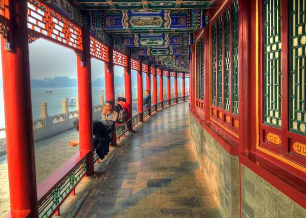 walkway china