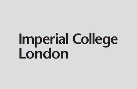 Imperial College Logo - black on grey background