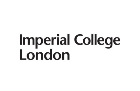Imperial College London logo - black on white background