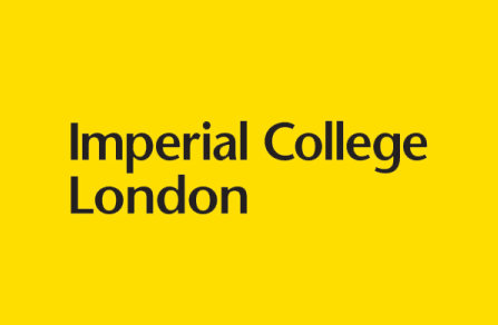 Imperial College London logo - Bblack on a yellowbackground