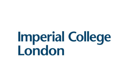 Imperial College Logo - blue on white background