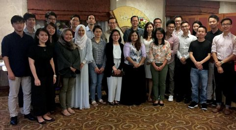 Alumni gather in Brunei, Darussalam